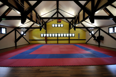 Karate Dojo Trainingslokal - ex1