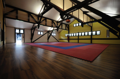Karate Dojo Trainingslokal - ex2